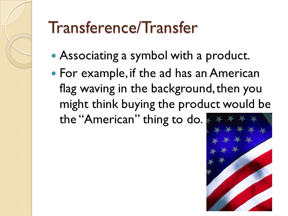 Transference/Transfer