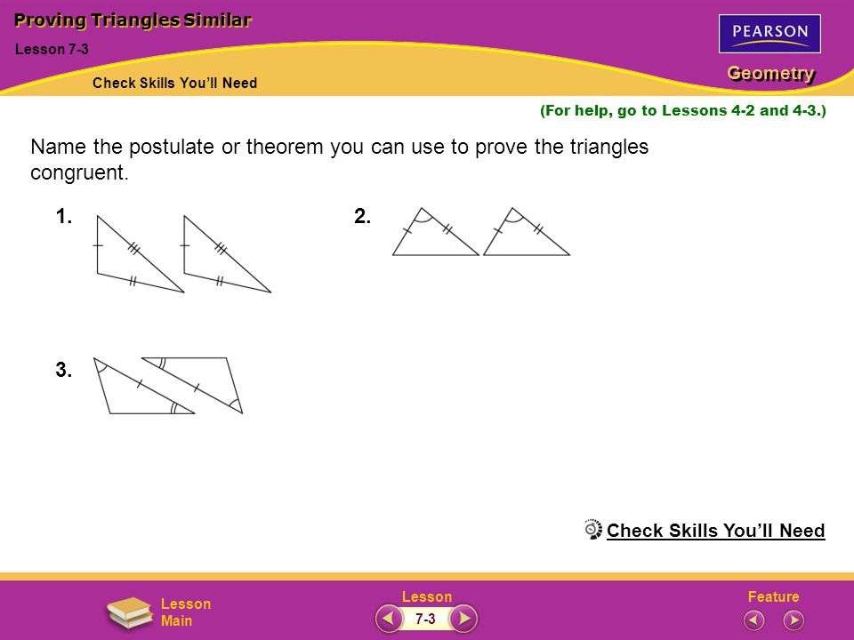 Proving Triangles Similar Ppt Download