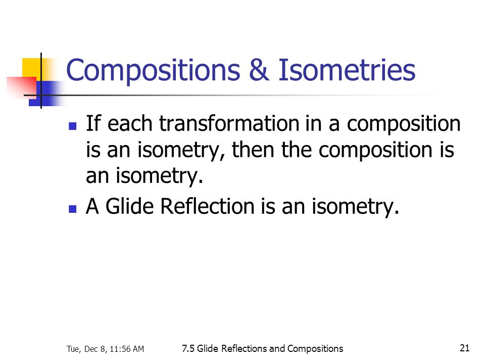 Compositions & Isometries