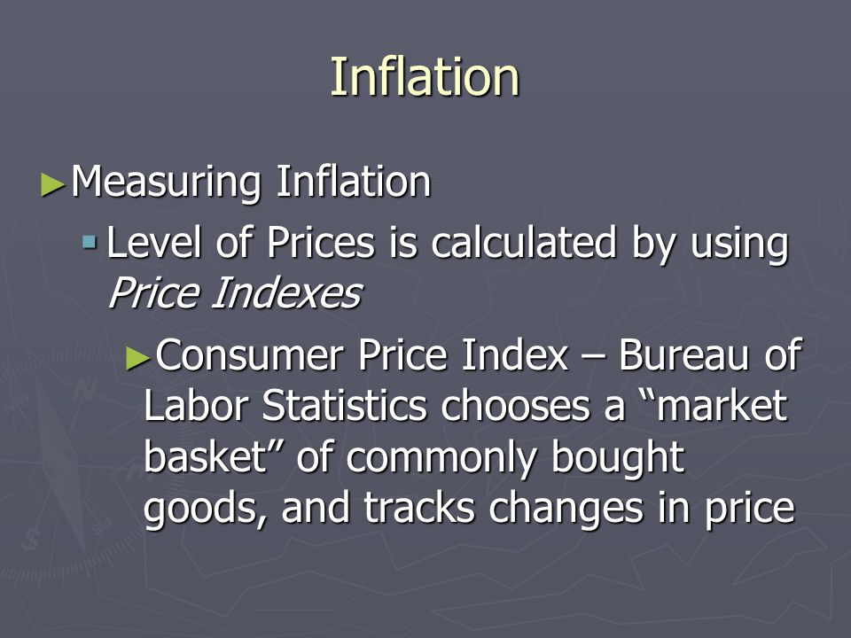 Inflation Measuring Inflation