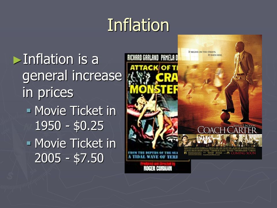 Inflation Inflation is a general increase in prices