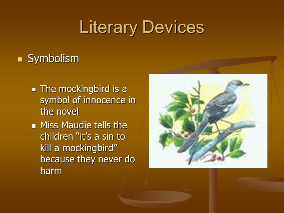 Literary Devices Symbolism