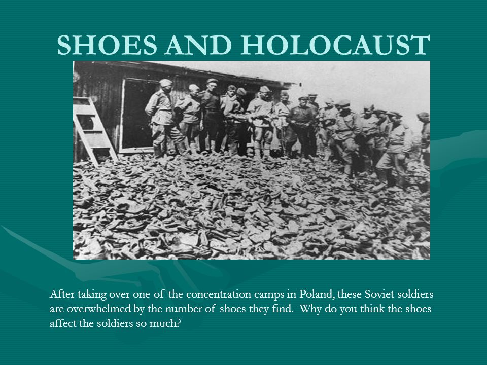 SHOES AND HOLOCAUST
