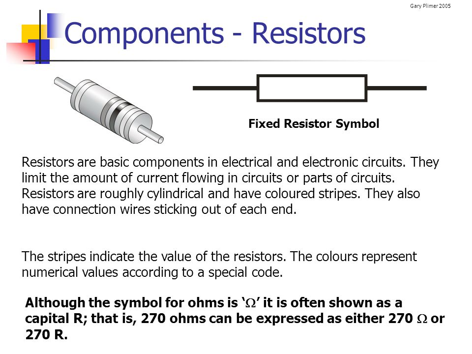 Electrical Circuits / Electronics - ppt download