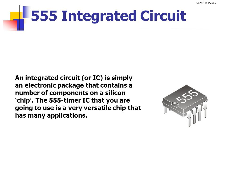555 Integrated Circuit