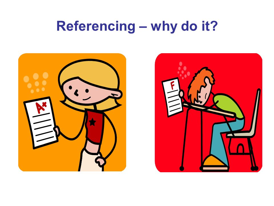 Referencing – why do it