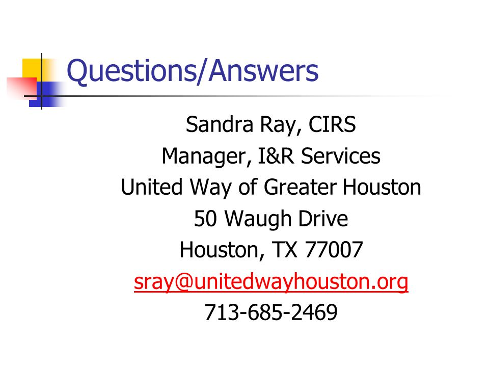 United Way of Greater Houston