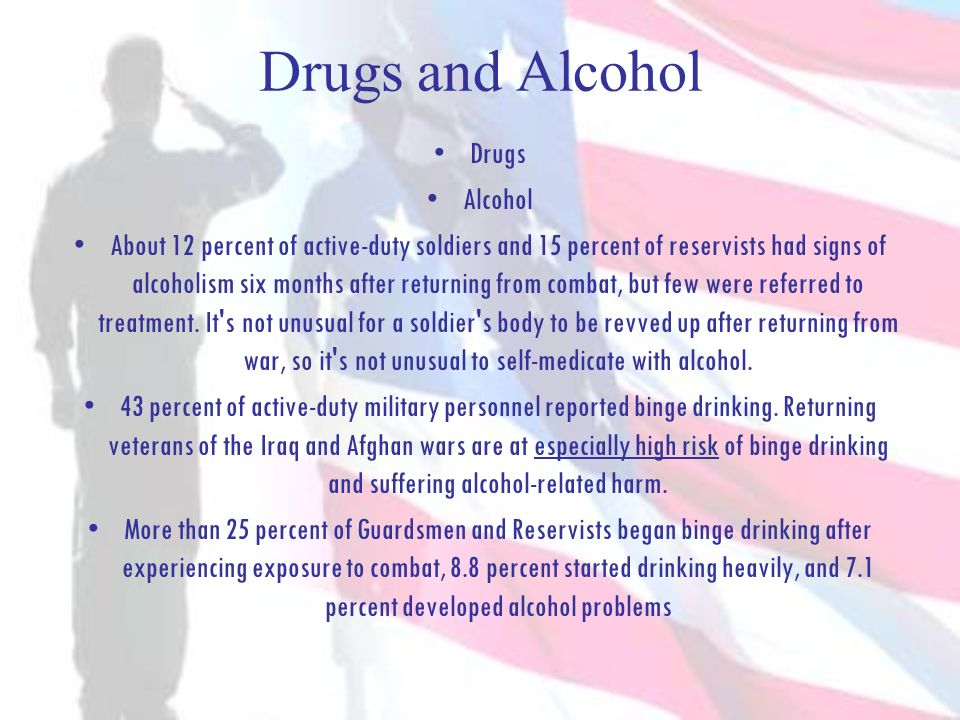 Drugs and Alcohol Drugs Alcohol