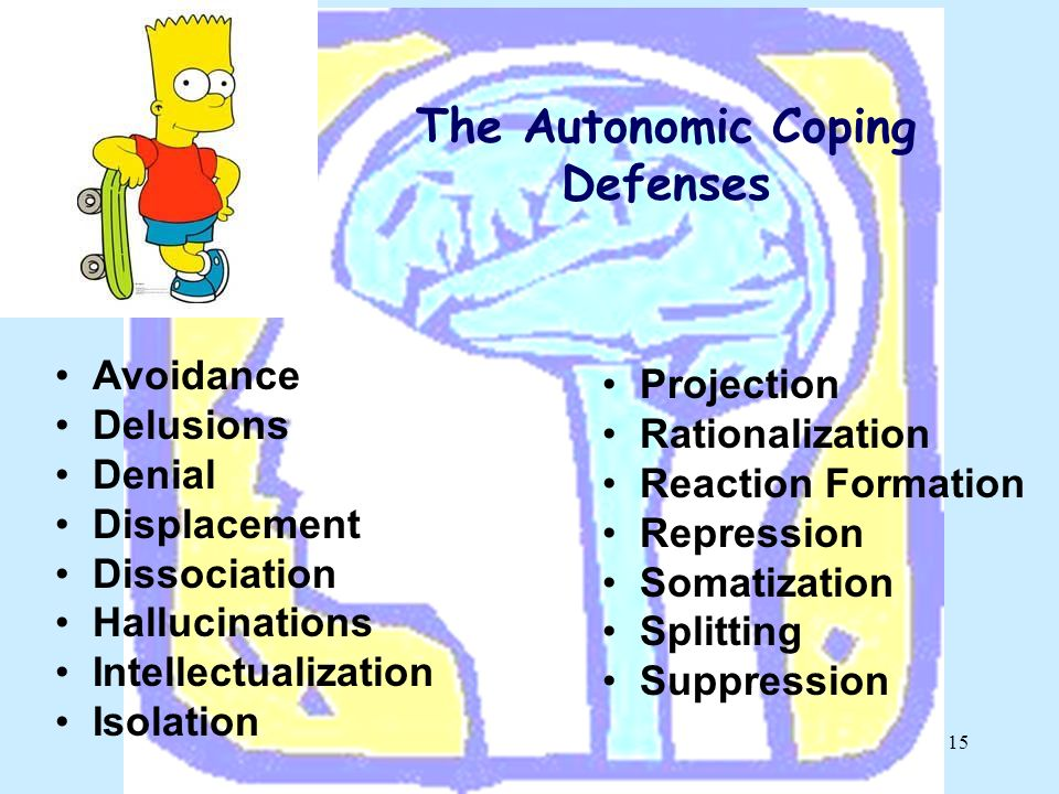 The Autonomic Coping Defenses
