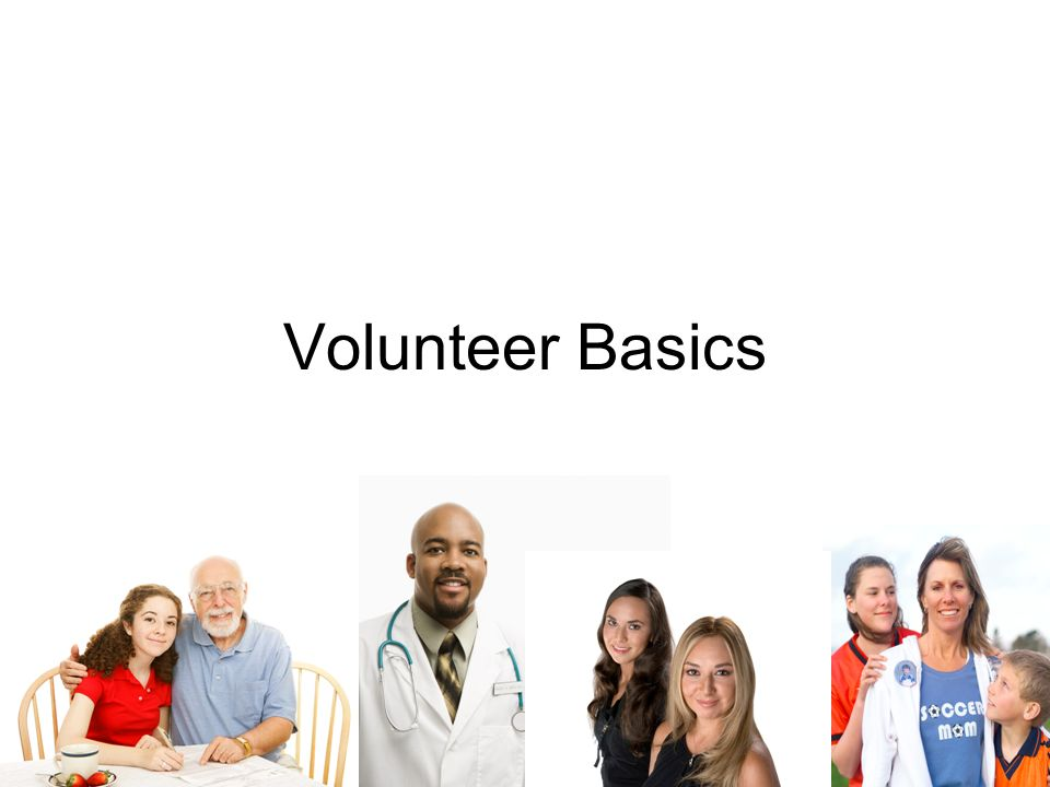 Volunteer Basics How to Catch and Keep Volunteers