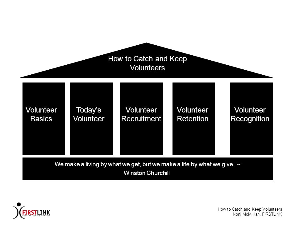 How to Catch and Keep Volunteers