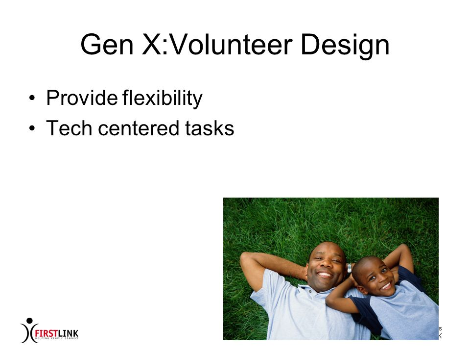 Gen X:Volunteer Design
