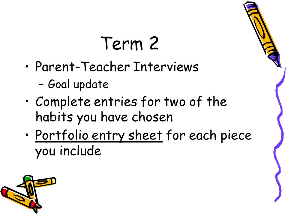 Term 2 Parent-Teacher Interviews
