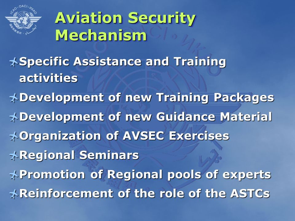 Aviation Security Mechanism