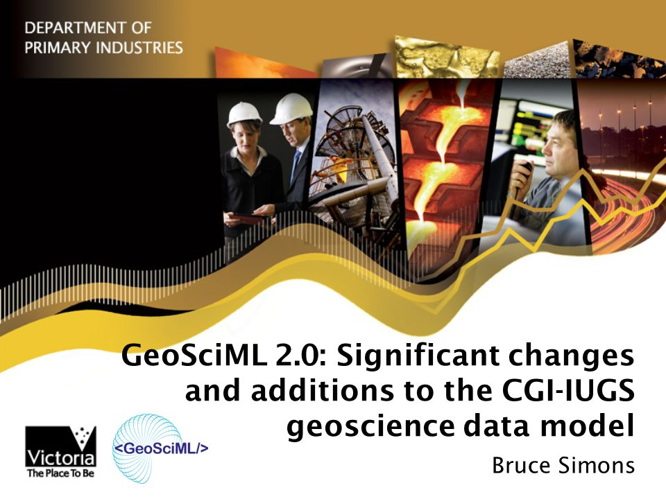 The GeoScience Mark-up Language, GeoSciML, is a language to allow the exchange of geological data.