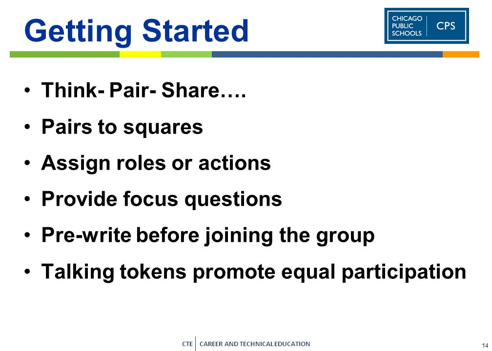 Getting Started Think- Pair- Share…. Pairs to squares