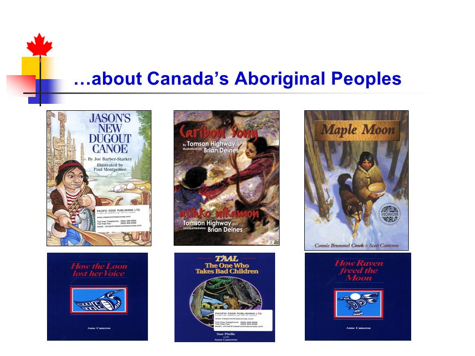 …about Canada's Aboriginal Peoples