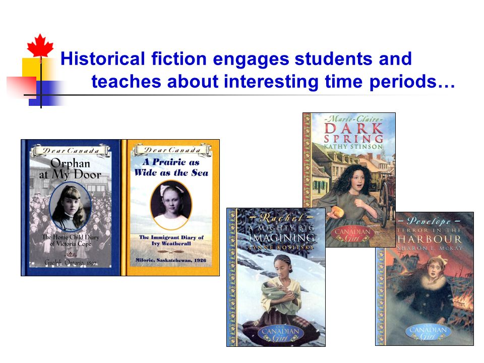 Historical fiction engages students and