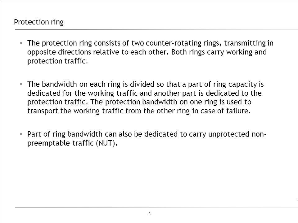 Protection ring