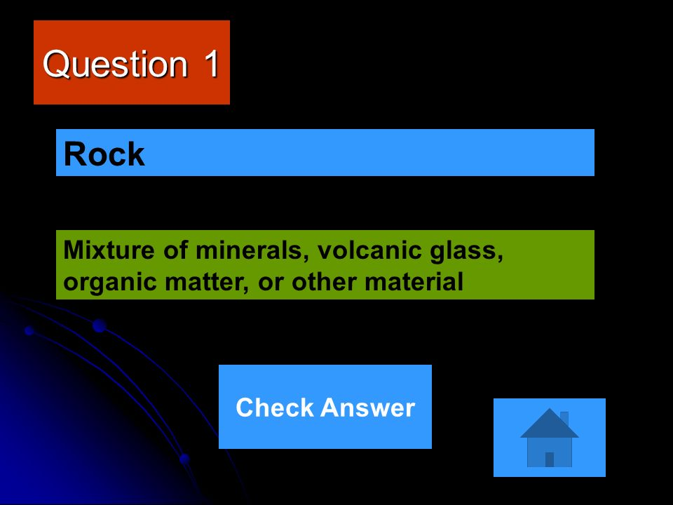Jeopardy Game The Rock Cycle  - ppt video online download