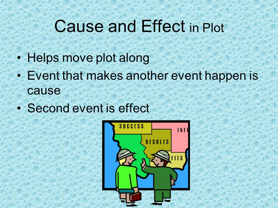 Cause and Effect in Plot