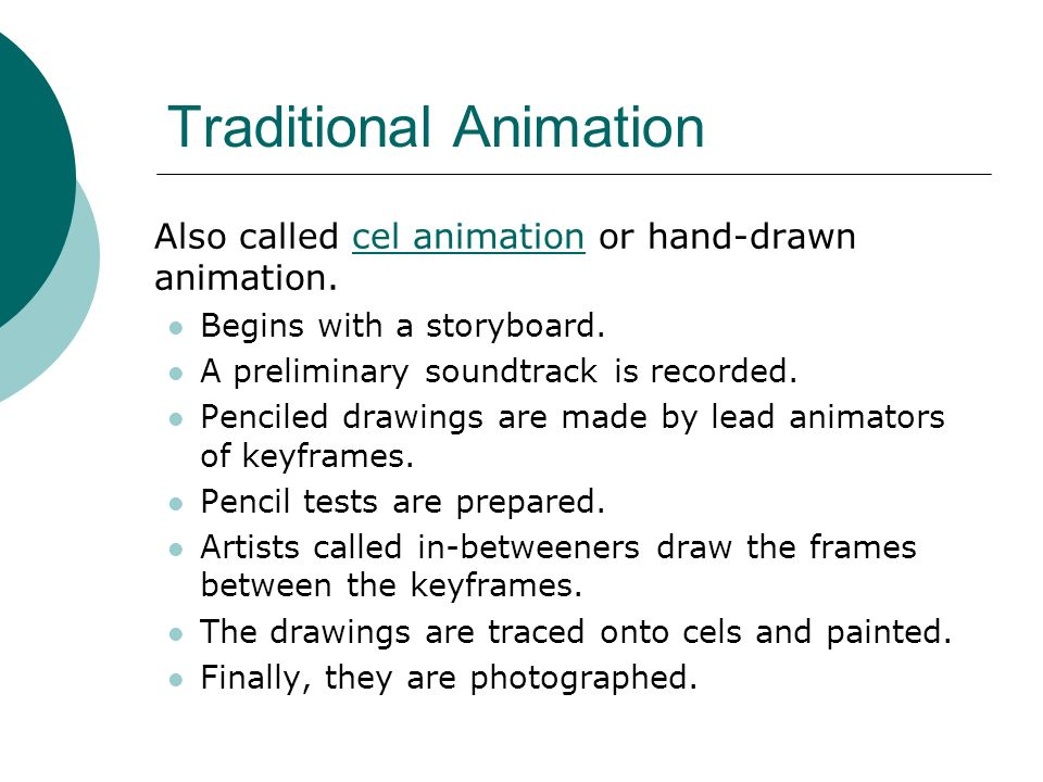 Traditional Animation
