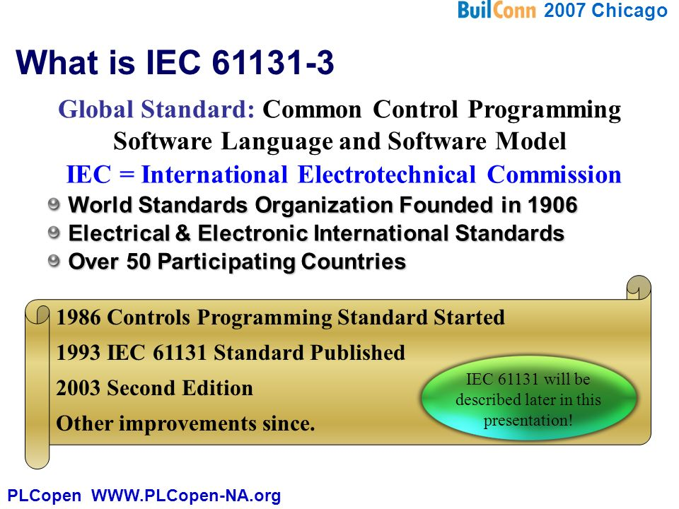 IEC for Building Automation - ppt video online download