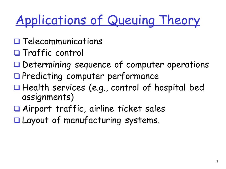 Introduction to Queuing Theory - ppt download