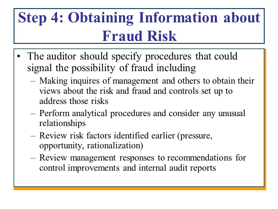 what distinguishes management fraud from a defalcation