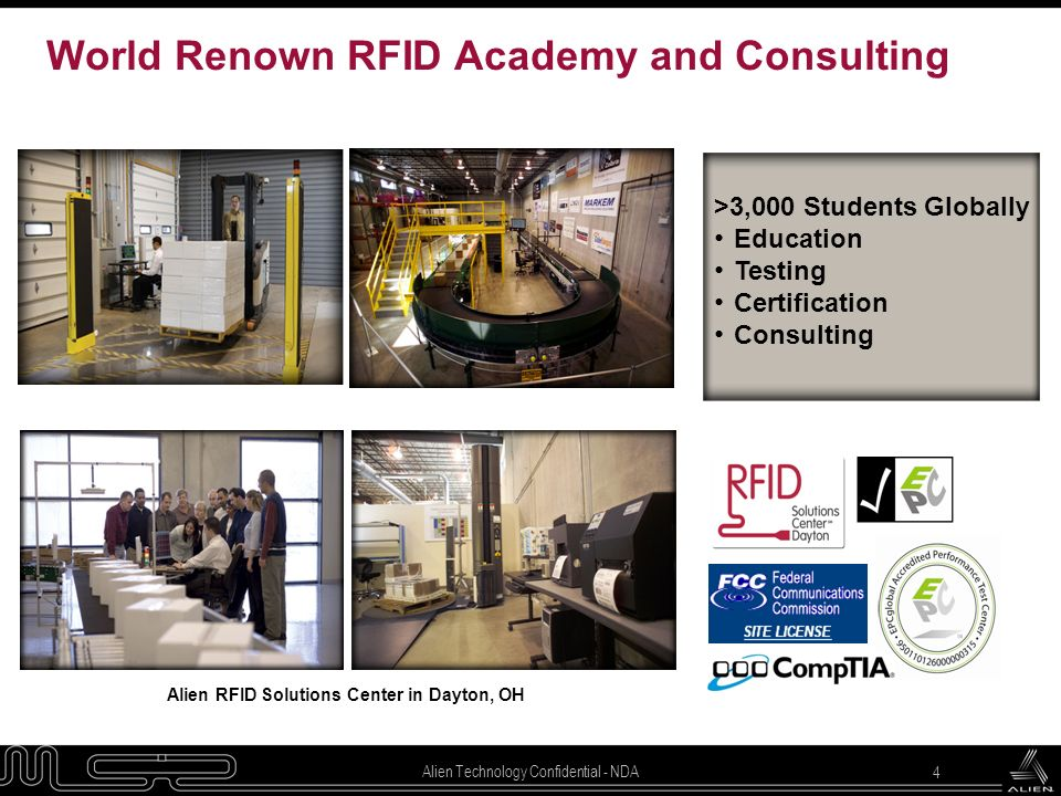 World Renown RFID Academy and Consulting