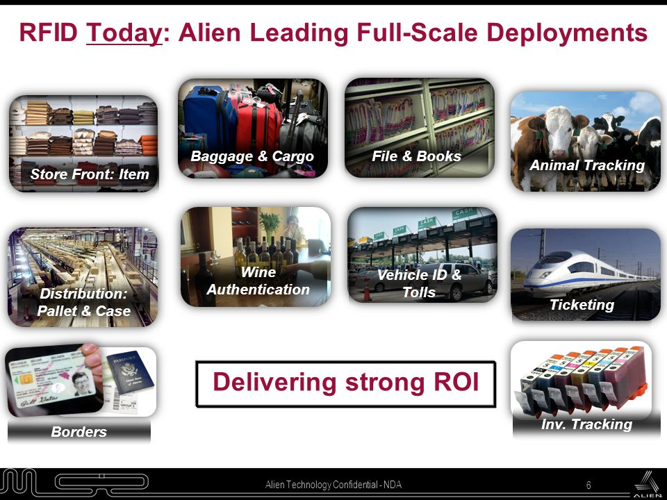 RFID Today: Alien Leading Full-Scale Deployments