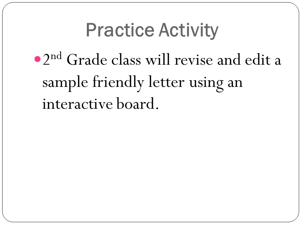 Friendly Letter Grade 2 Ppt Download