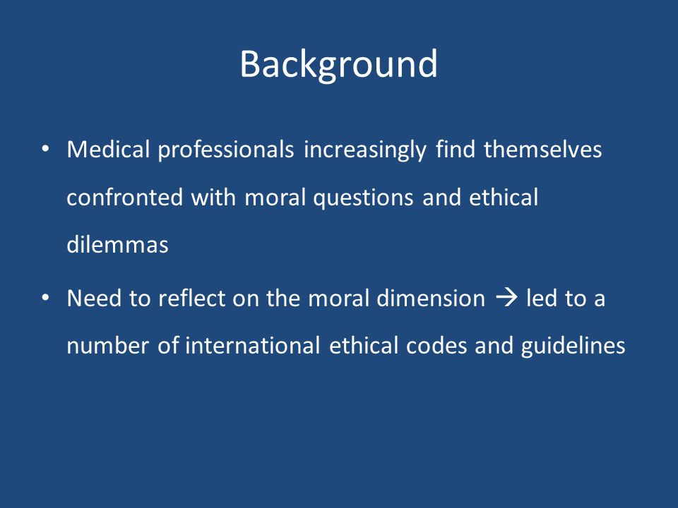 medical ethical dilemma definition