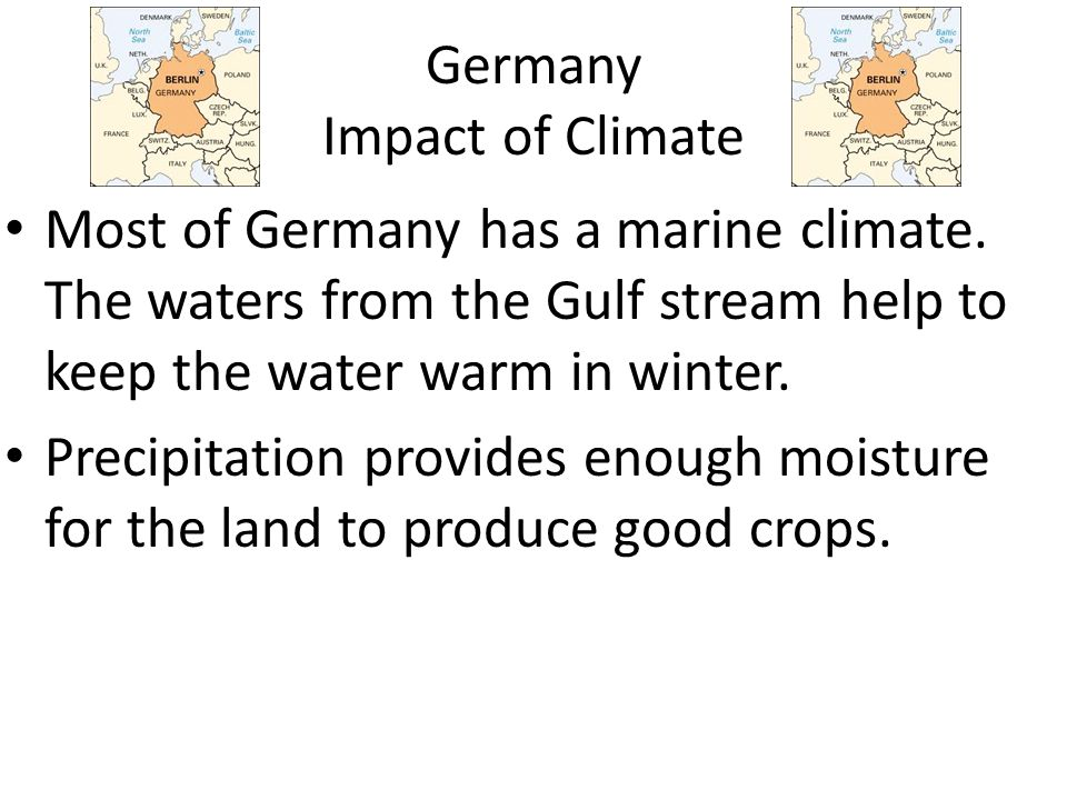 Germany Impact of Climate