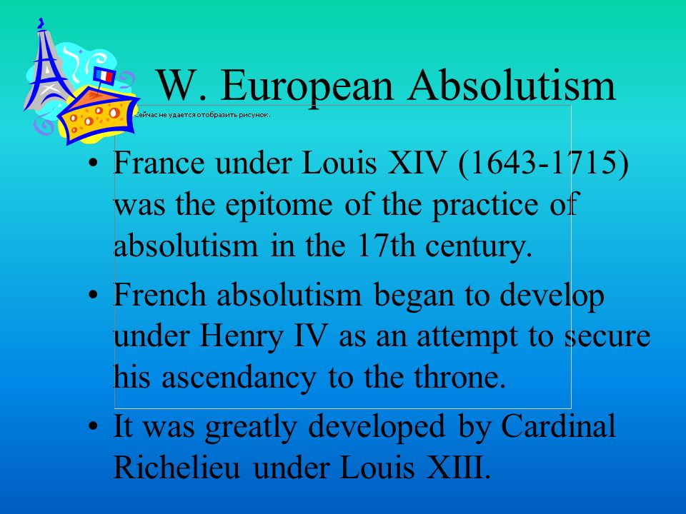 european absolutism essay 'the penguin history of europe europe absolutism in essay series is the term 'absolutism' has both a moral and political connotation the columbian exhchange came.