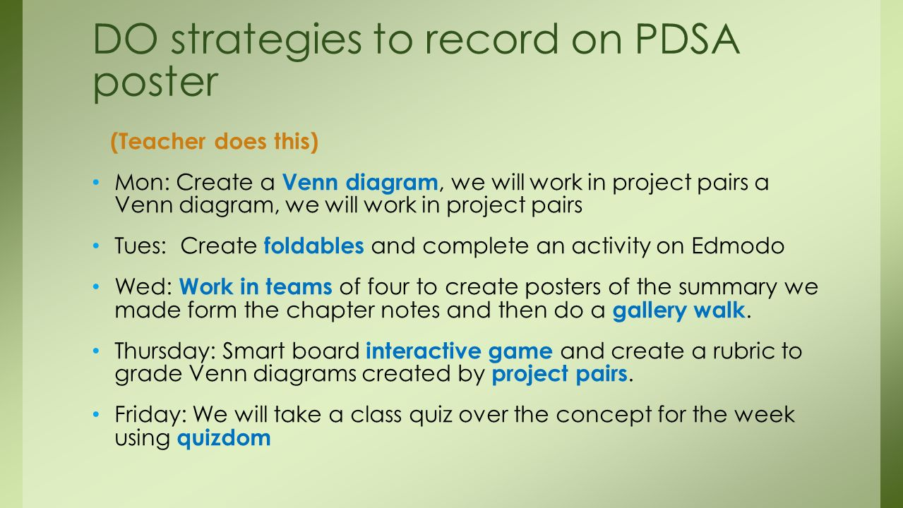 Pdsa revisited for the common core ppt download do strategies to record on pdsa poster ccuart Image collections