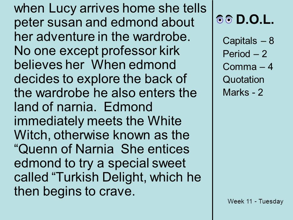 The Lion The Witch And The Wardrobe Blurb