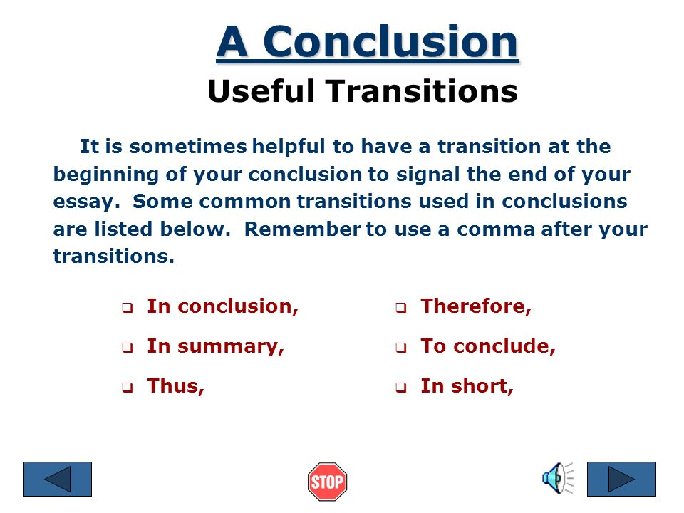 Essays On Importance Of English A Conclusion Useful Transitions Pay Someone To Do Online Class also Health Care Essay Topics Making Your Last Paragraph Count  Ppt Video Online Download Essay Vs Research Paper
