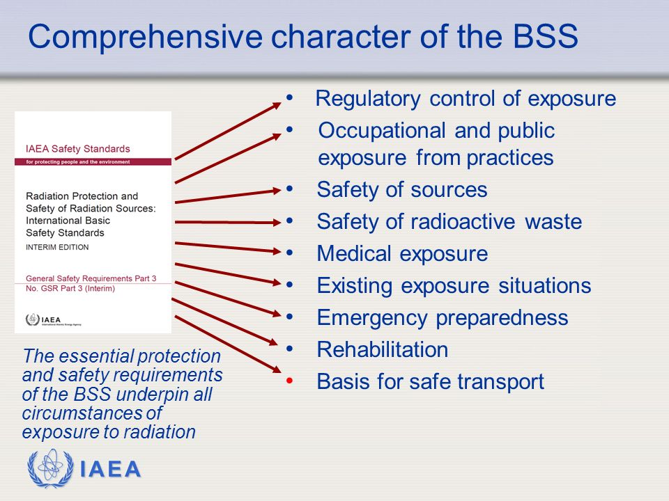 Comprehensive character of the BSS