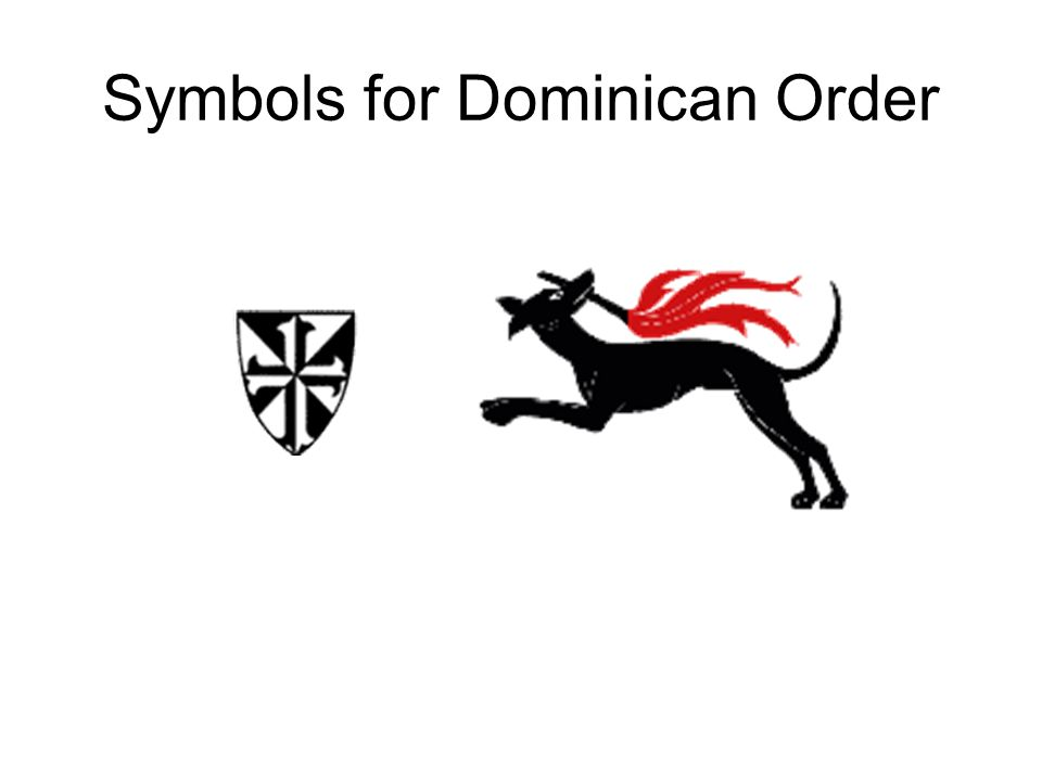 Didjareadit Why Do The Dominicans Have A Dog As Their Logo Ppt