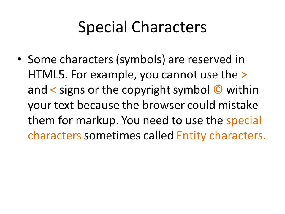 Html Lecture Ppt Video Online Download