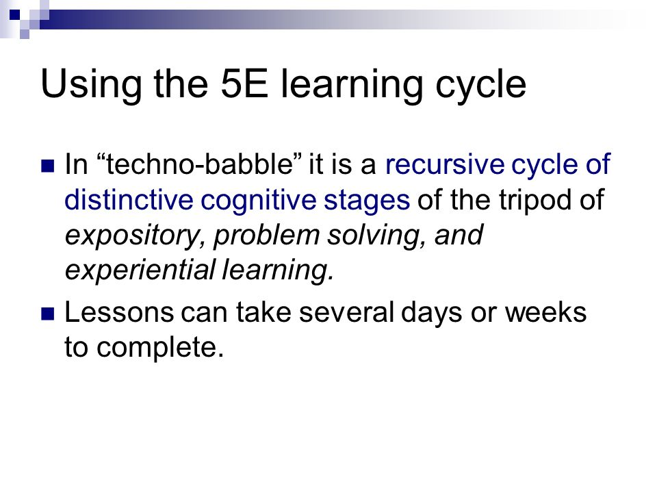 5E Learning cycle – with sample lesson - ppt video online