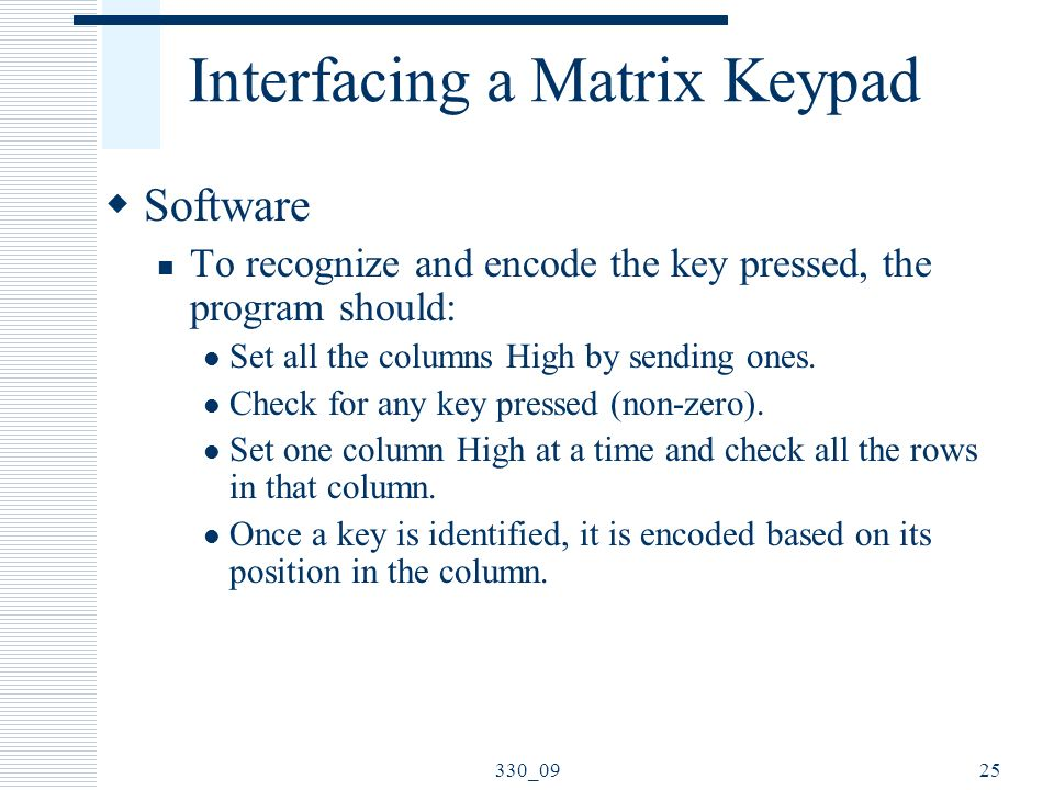 Input/Output Ports and Interfacing - ppt download