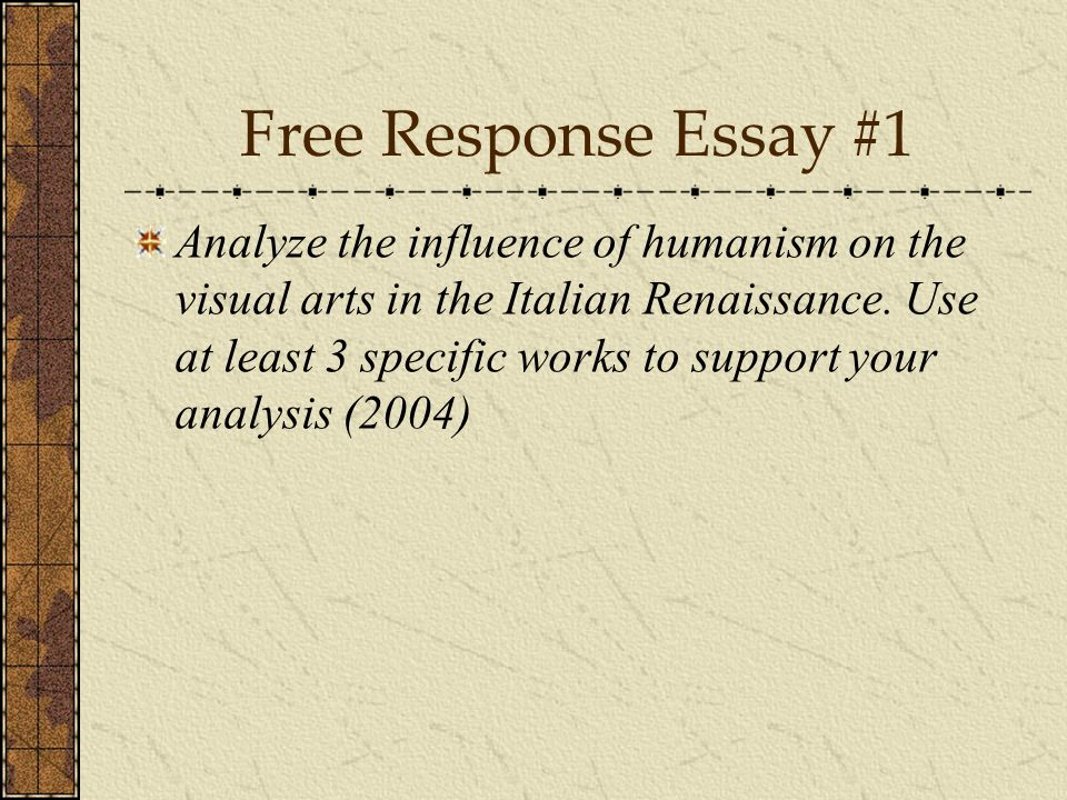 Genetically Modified Food Essay Thesis Essay Questions On The Italian Renaissance Coursework Service Starting A Business Essay also Compare And Contrast Essay Examples High School Italian Renaissance Essay Questions  Mistyhamel Essay On Importance Of Good Health