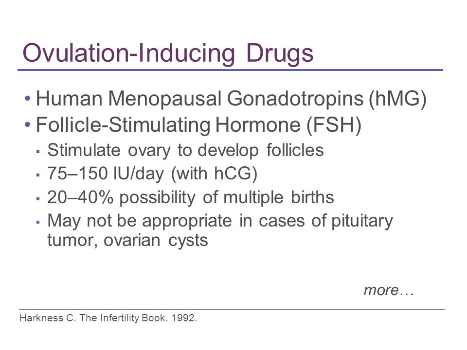 Treatment Options for Infertility - ppt download