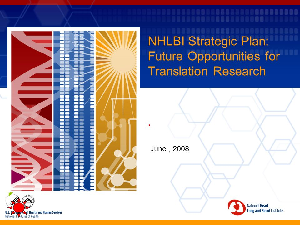 NHLBI Strategic Plan: Future Opportunities for Translation Research