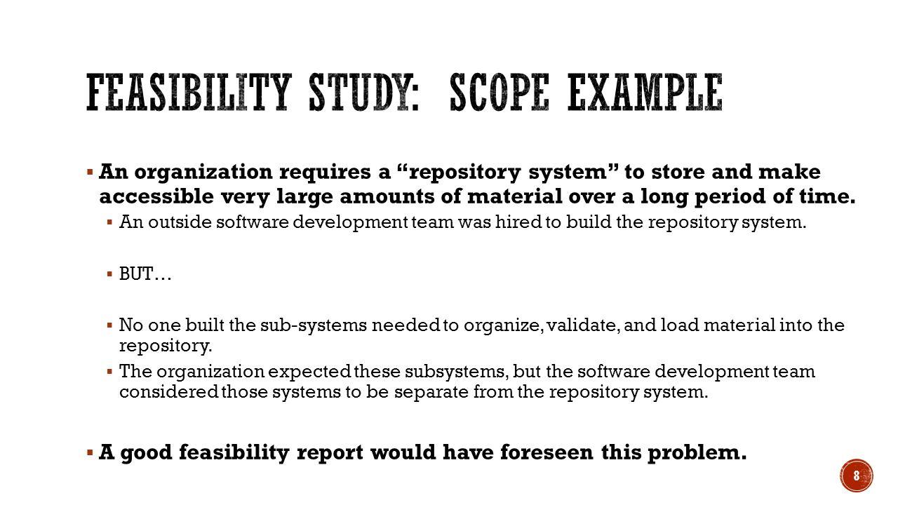 Feasibility Studies CS 360 Lecture ppt download