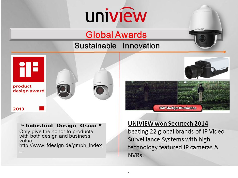 About Uniview Uniview's major shareholder by Bain Capital