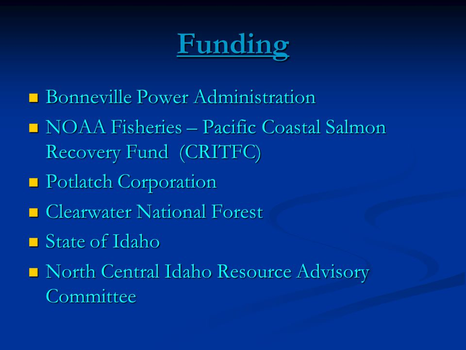 Funding Bonneville Power Administration