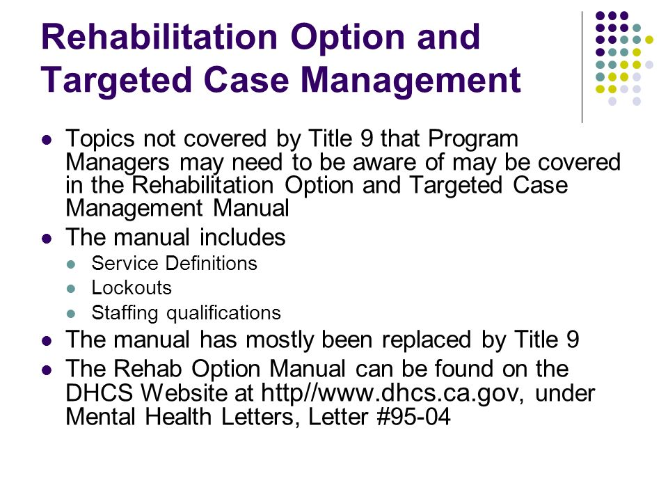 new program manager quality improvement orientation ppt download rh slideplayer com case management manual maine case management manual for geriatric